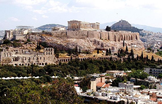 Город Афины