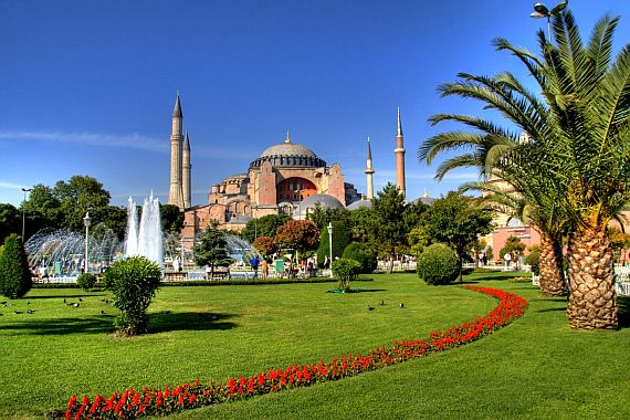 Красивые места Стамбула
