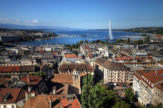 Отдых в Швейцарии. Женева