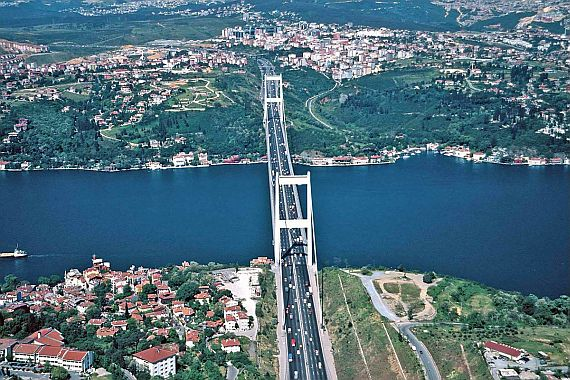 Пролив Босфор Стамбул