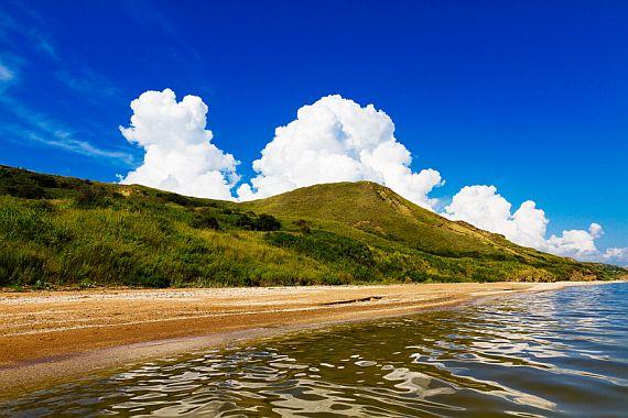 Таманский полуостров пляж