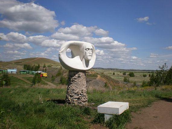 Аркаим. Статуя бронзового века