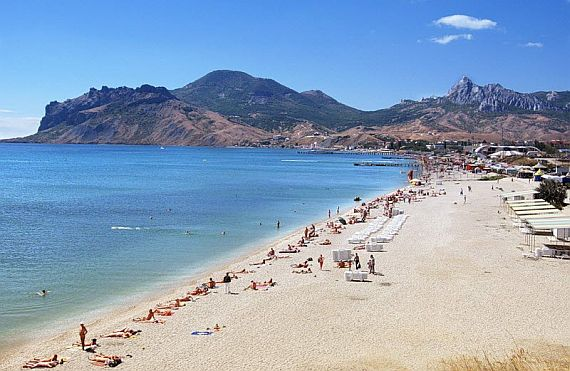 Пляжи Крыма