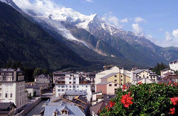 Шамони горнолыжный курорт Франции