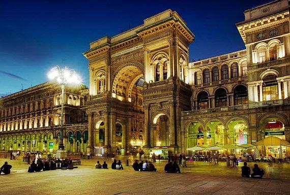 Город Милан Италия
