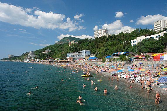 Курорт Алушта. Крым
