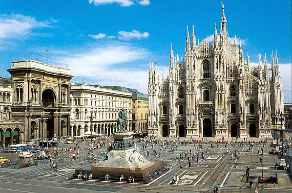 Милан - город мод