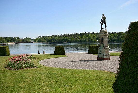 Парк дворца Дронтхольм