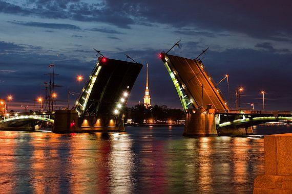 Разводные мосты в Санкт Петербурге