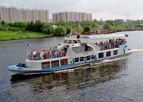 Речной круиз Московская кругосветка на теплоходе
