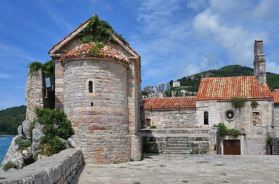 Будва крепость Святой Марии