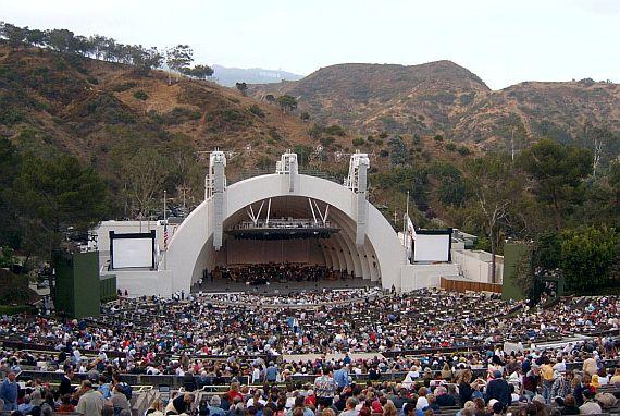 Голливудская чаша в Лос-Анджелесе