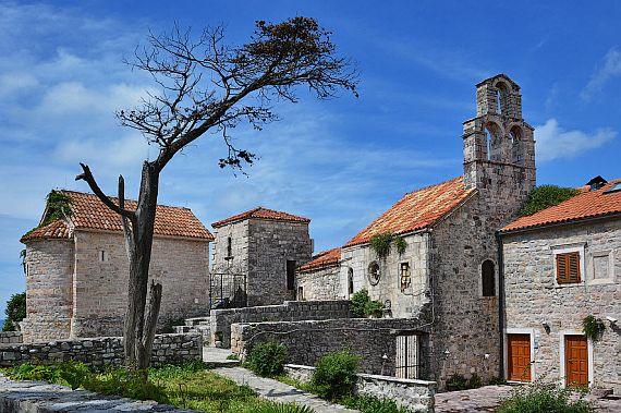 Город Будва крепость Святой Марии