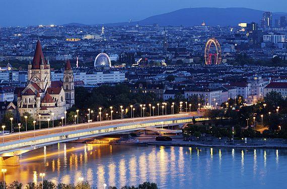 Город Вена столица Австрии