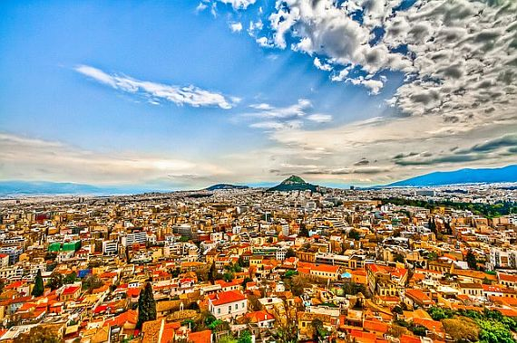 Греция город Афины