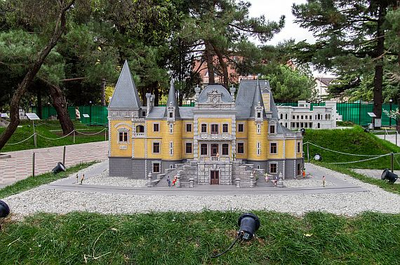 Крым в миниатюре Алушта