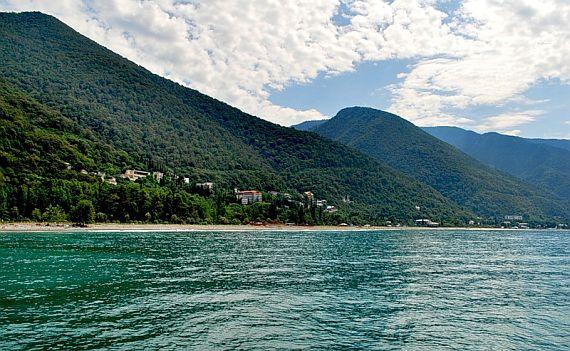Курорт Абхазии Гагры