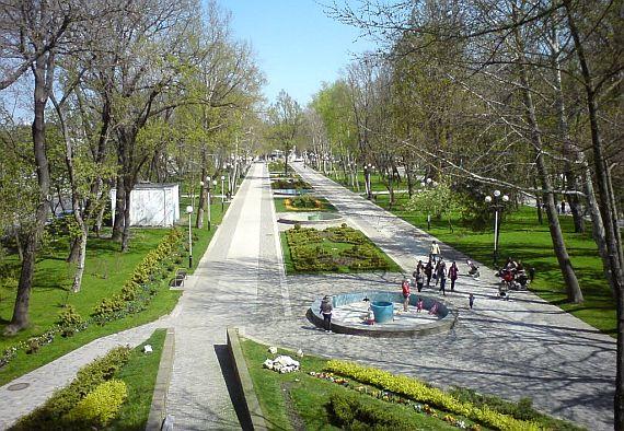 Парк Горького в Краснодаре