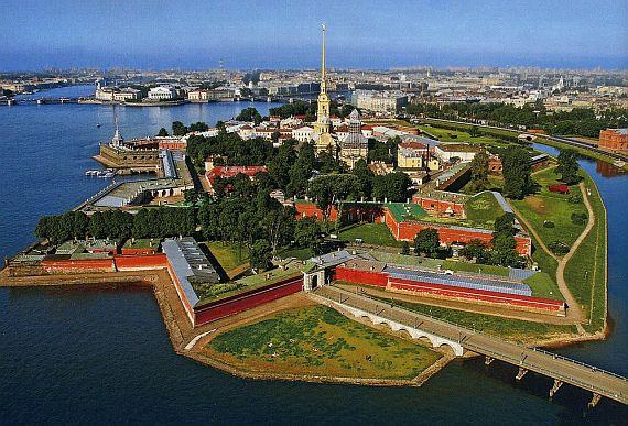 Петербург Петропавловская крепость
