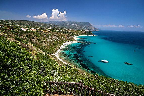 Пляжи Италии, пляж Капо Ватикано