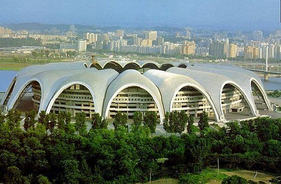 Стадион Первого Мая Южная Корея