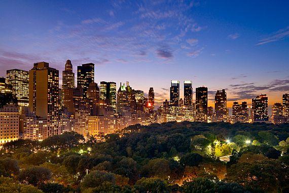 Город Нью-Йорк - Большое яблоко
