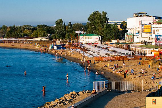 Отдых на Черном море пляжи