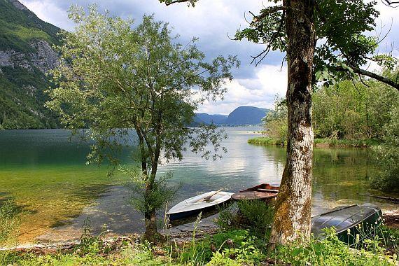 Озеро Бохинь Словения