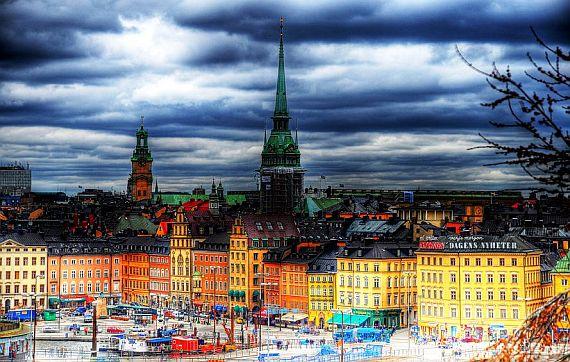 Стокгольм столица Швеции
