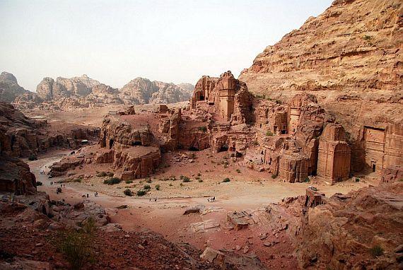 Вади-Рам. Пустыня в Иордании