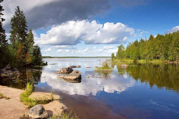 Отдых в Карелии летом и зимой