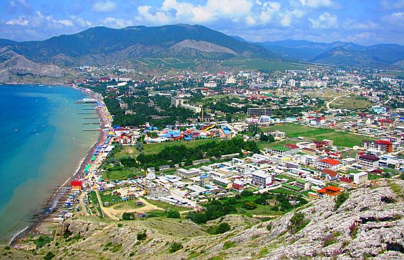 Отдых в Крыму. город Судак
