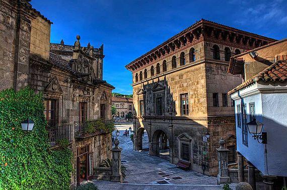 Poble Espanyol – грандиозный музей под открытым небом