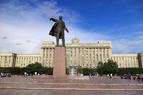 Санкт Петербург площадь Ленина