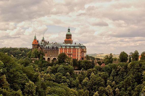 Замок Ксёнж Польша