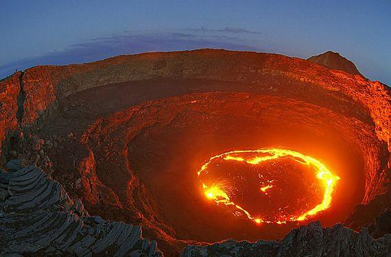 Афарская котловина или ад на Земле