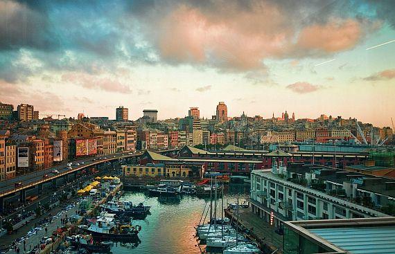 Город Генуя