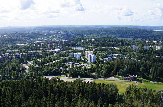 Город Куопио. Финляндия
