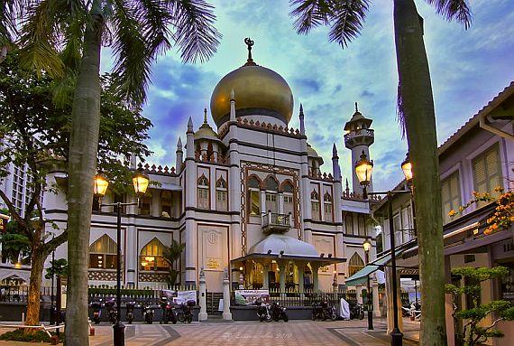 Мечеть Султана в Сингапуре