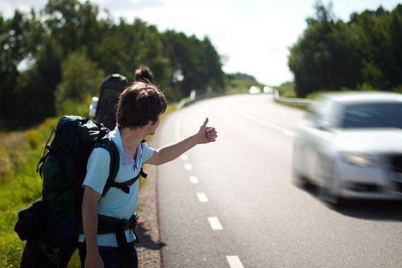Путешествие автостопом по миру