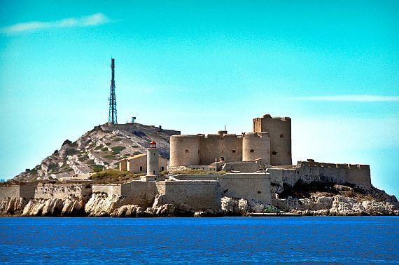 Замок Иф Франция