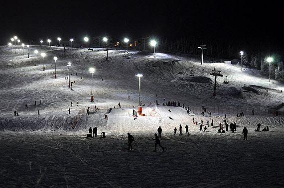 Финляндия зимой. горнолыжный отдых