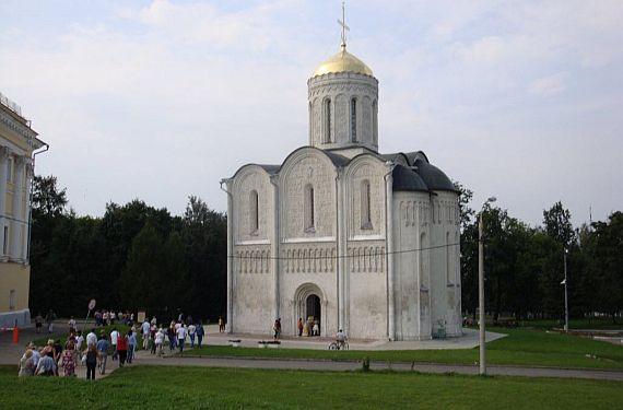 Дмитриевский собор во Владимире