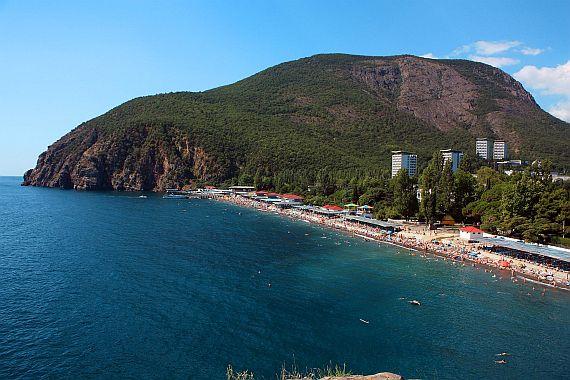 Гора Аю Даг в Крыму