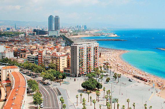 Город Барселона. Испания