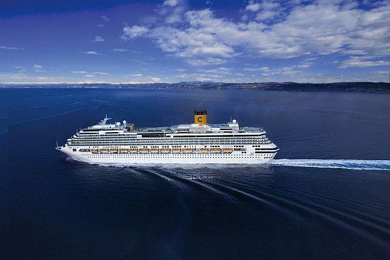 Круизный корабль Costa Pacifica