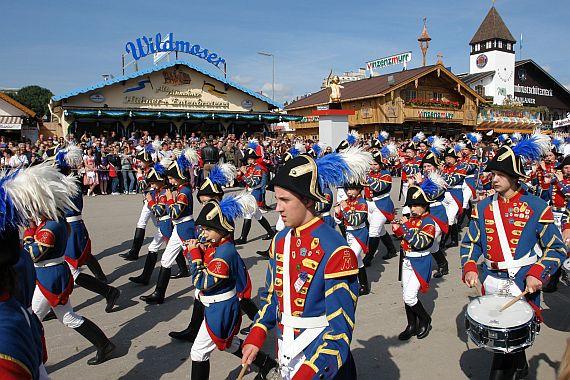 Праздник Октоберфест в Германии