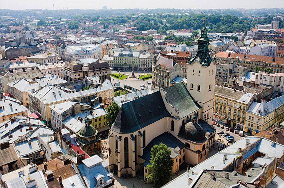 Туризм в Украине: город Львов