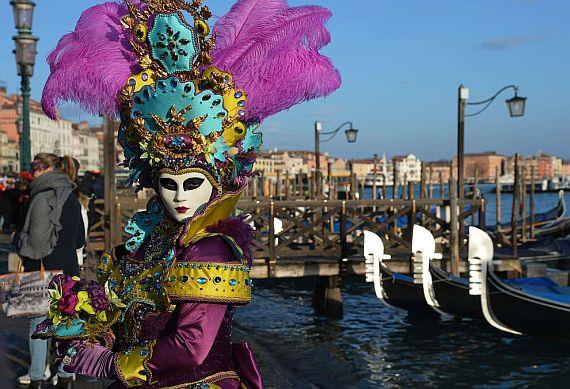Венецианский карнавал в Венеции