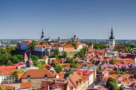 Эстония. Город Таллин